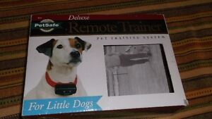 DELUXE PETSAFE REMOTE TRAINER (Pet Training System) For Small Do