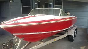 Savage ski boat