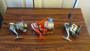new rods, and reels, mouving sale