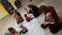 Messy Makers Mom and Baby Class