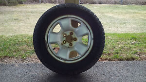 4 Winter Tires on Rims - Can Deliver
