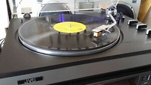 JVC Turntable Record Player Home Stereo