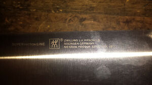 Henkel chefs knife 9 inch and 10 inch