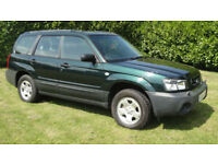 Subaru Forester 2.0 X - FULL MOT - BEAUTIFUL CONDITION - LOVELY DRIVE