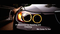 Professional Car washing And Detailing That Comes To You!