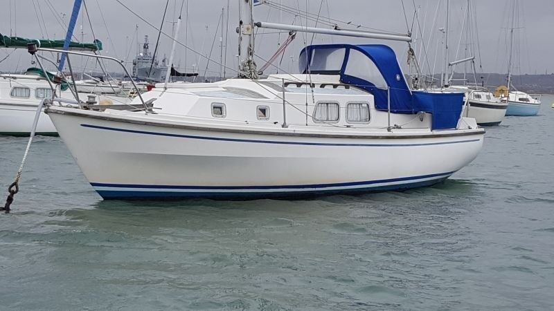 Westerly Centaur 26ft B Layout - Gosport