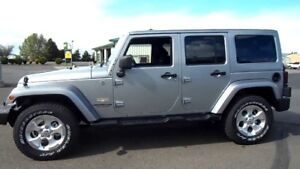 2013 Jeep Wrangler Unlimited Sahara- Excellent Condition