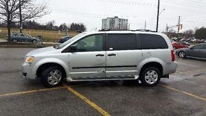 2010 Dodge Grand Caravan Wheelchair van Minivan, Van