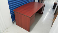 Free Delivery in GTA! - Large Executive Mahogany Office Desk!