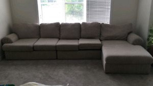 L SHAPE COUCH CLOTH