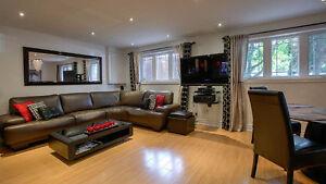 Luxury house apartment furnished short/long term rental Toronto
