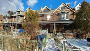 Large 3 Bed Unit, Available Now,With Deck, Dufferin+Bloor Subway