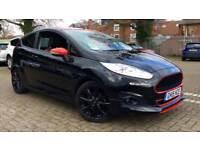 2015 Ford Fiesta 1.0 EcoBoost 140 Zetec S Black Manual Petrol Hatchback