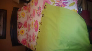 Like New Reverse Coverlet Set And Grommet Curtains St. John's Newfoundland image 1