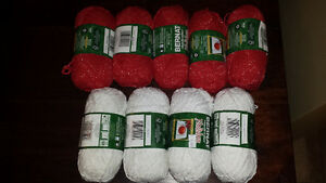 9 balls of Holiday Handicrafter Cotton - never used!
