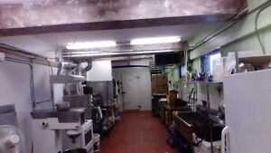 Food, bakery, commercial kitchen