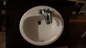 Vanity Countertop, Sink & Faucet