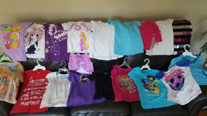 Girls tops/shirt/ t-shirt, sizes 5/6 & 7/8