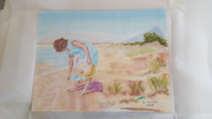 PASTEL ART  UNFRAMED