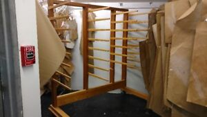 Wood Drying Rack for SALE!