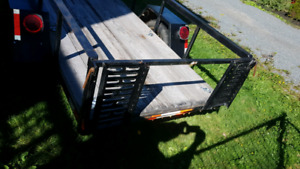 Utility trailer for sale *new price, fresh safety*