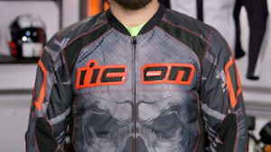 ICON Overlord Reaver Textile Jacket w/ Removable Liner