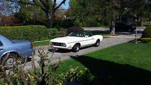 73 Mustang Convertible...OPEN TO ANY OFFERS........
