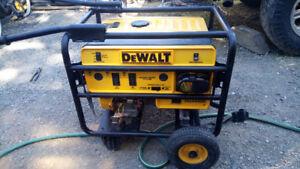 DEWALT DG4400b Heavy Duty Electric Start Generator