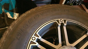 tires and rims low mileage Kawartha Lakes Peterborough Area image 2