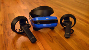 VR Headset with controllers - $450 OBO