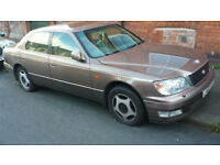 Lexus LS 400 4.0 auto 1998 PX Swap Anything considered