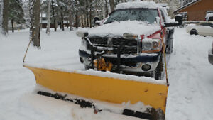 2008 Dodge Dually with plow