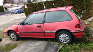 1991 Honda Civic Hatchback