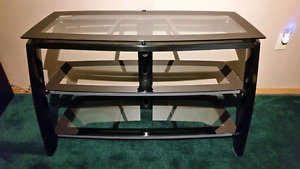 $90.00 Glass TV Stand