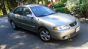 2002 Nissan Sentra -Manual- fully loaded - Only 52,000 kms!