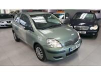 2005 TOYOTA YARIS T3 VVT-I Green Manual Petrol