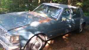 76 Cadillac Seville not fueld injected was originally