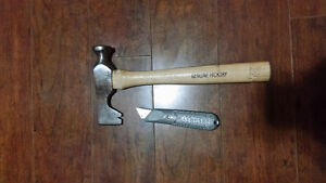 Drywall hammer and knife
