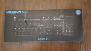 Logitech G610 Orion Blue Gaming Keyboard