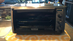 Black&Decker toaster oven