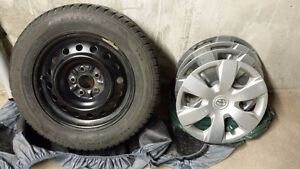 Toyota Camry used Winter Tires with Rims and Hubcaps