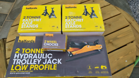 2 tonne low profile trolley jack and other bits