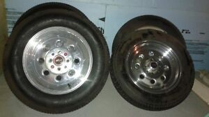 For Sale Weld Draglite street/drag rims and tires