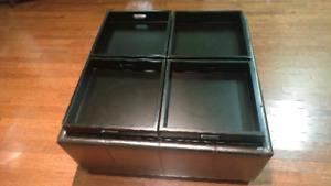 Coffee table/ storage ottoman