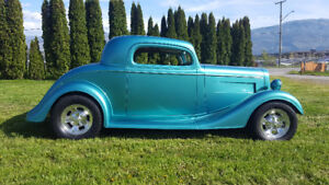 1934 Chev 3 Window Coupe