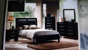 king size 7 pieces bedroom set brand new  $1199