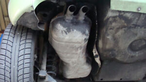 2003 VW Beetle Exhaust Aftermarket Muffler-$250