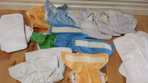 13 - bumgenuis cloth diapers