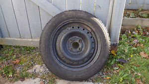 One Goodyear Nordic Directional Winter Tire with Rim $ 45.00