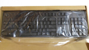 DELL Computer Keyboard with cord/USB connection Mod# KB212-B NEW